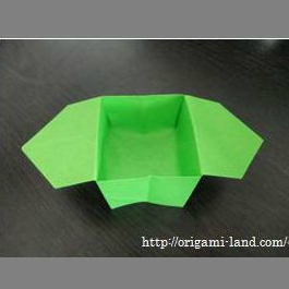 Origami How To Fold Some Decorations For Moon Watching Sanbou A Small Wooden Container Cloud