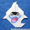 Origami: How to fold Whisper (Youkai Watch)