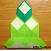 Origami: How to fold a Kadomatsu (Japanese Ornament for the New Year)